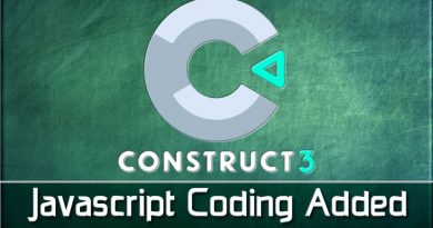 Construct 3 Adds JavaScript Support