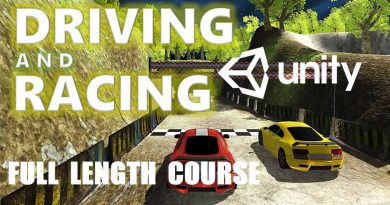 HOW TO MAKE A DRIVING & RACING GAME IN UNITY C# TUTORIAL BEGINNER/INTERMEDIATE [FULL COURSE]