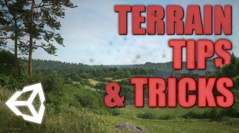 Terrain tips & tricks   Unity 2019 -Tutorial