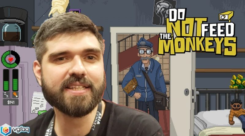 Do Not Feed the Monkeys - GDC 2019 Indie Game Interview and Gameplay Showcase