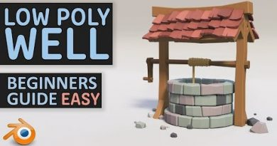 Create A Low Poly Well | Beginners Tutorial | Blender 2.8 | Easy