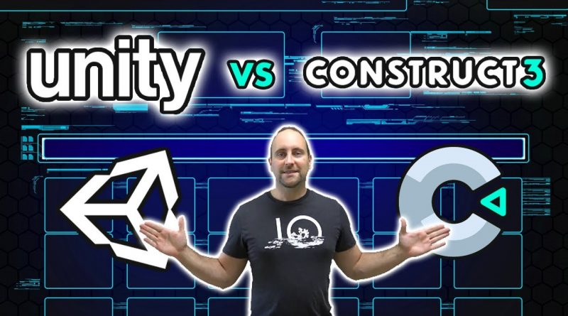 Unity vs Construct 3 | What Is The Best Game Engine?