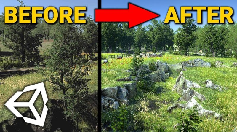 How I Improve the Graphics in Unity! (Tutorial)