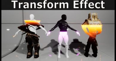Material Transformation Effect - (Unreal Engine 4 Material Tutorial)