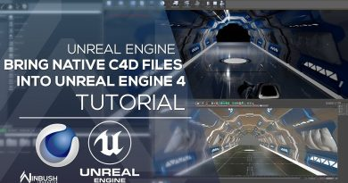 Import Native C4D files into Unreal Engine 4