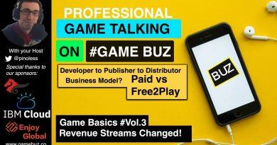 #GameBasics 3: Game Revenue Streams worldwide   Developers Publisher Distributors business model