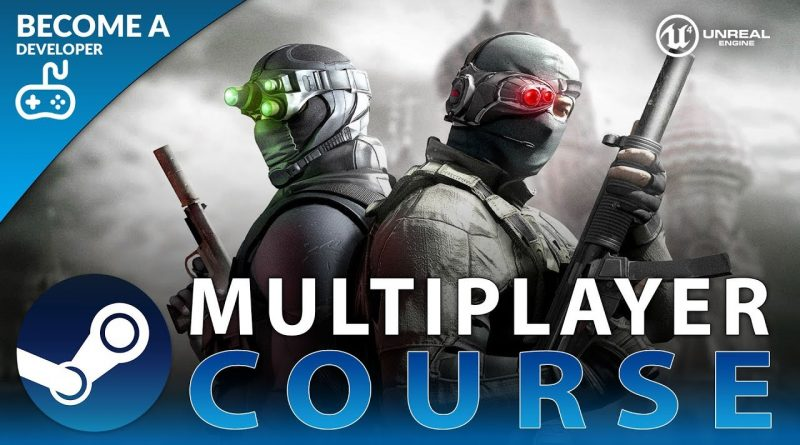 USING STEAM API WITH UNREAL ENGINE 4 - Beginner Multiplayer Course