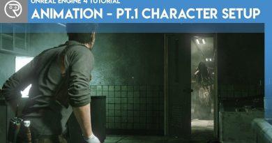 Unreal Engine 4 Tutorial - Animation Pt.1 Character Setup