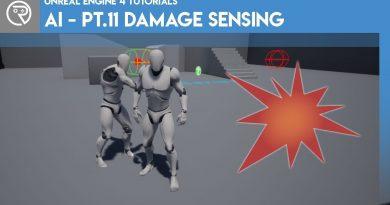 Unreal Engine 4 Tutorial - AI - Part 11 Damage Sensing