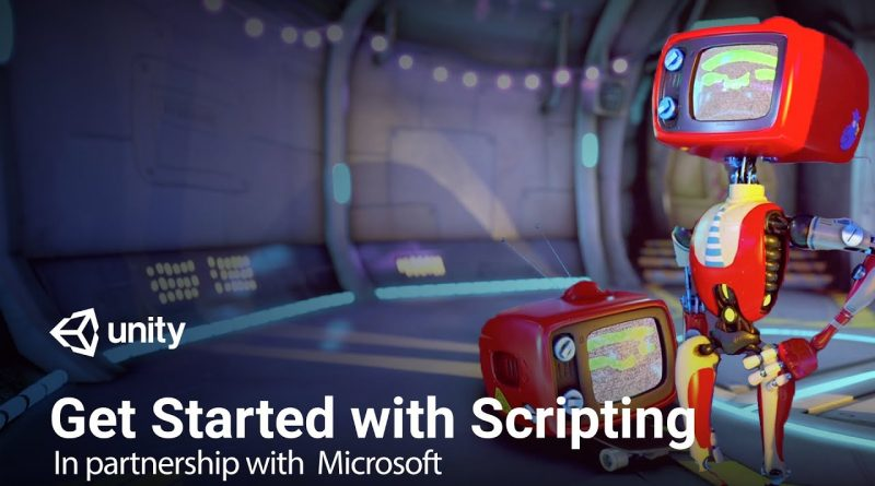 Get Started with Scripting in C# with Unity and Visual Studio