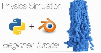 [2.8] Tutorial: 3D Programming with Python and Blender for Physics Simulations