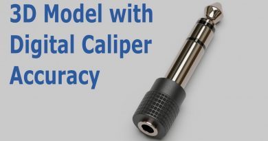 Blender Tutorial: Caliper Accuracy 3D Model