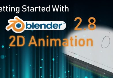 Blender 2.8 Grease Pencil Tutorial - 2D Animation