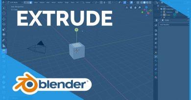 Extrude - Blender 2.80 Fundamentals