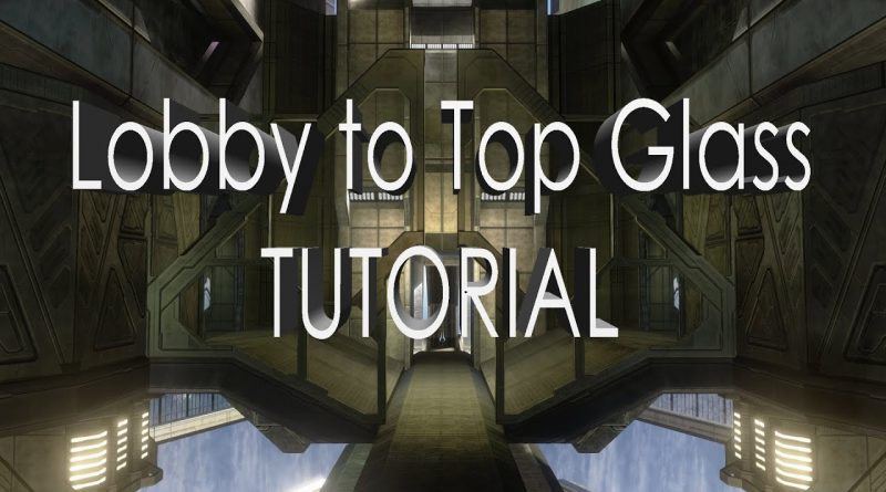 """Halo 3 MCC - (Construct) Lobby to Top Glass Trick Jump Tutorial - ClearlyMe """"1 Minute Tutorials"""""""