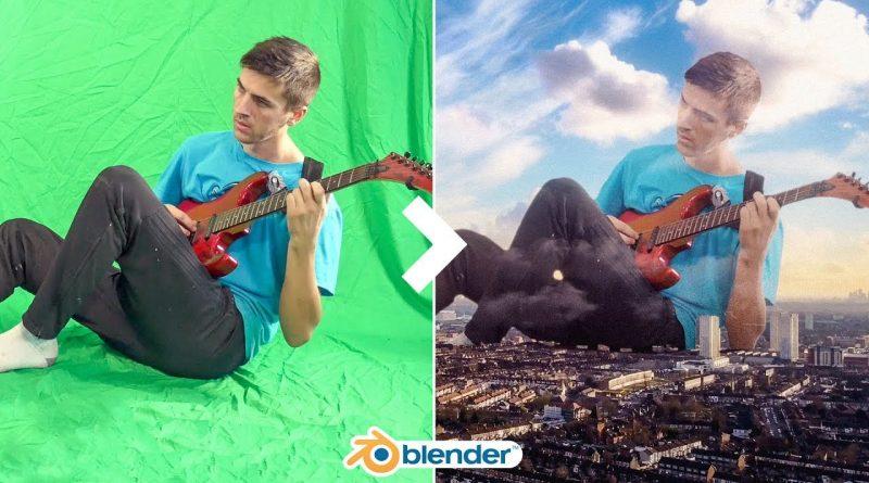 Blender 2.8 VFX Tutorial | Green Screen
