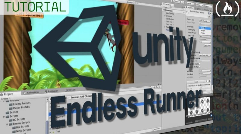 Unity Game Dev Full Tutorial: Infinite Runner
