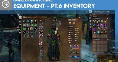 Unreal Engine 4 Tutorial - Equipment - Part 6 Inventory