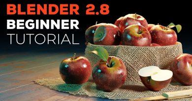 Blender 2.8 Beginner Tutorial - Part 1: Introduction
