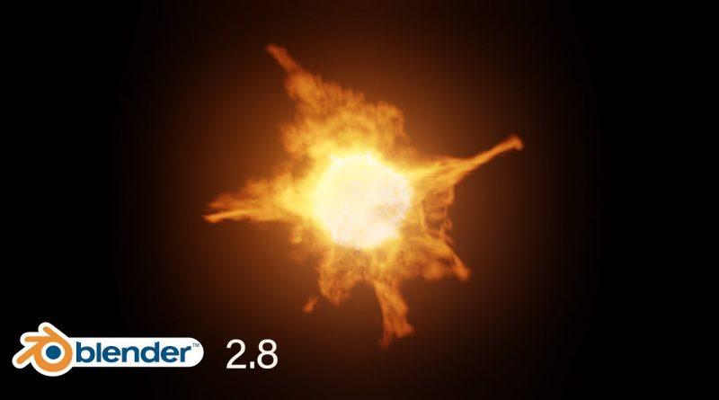 Blender 2.8 Tutorial - How to Create Fire in Eevee