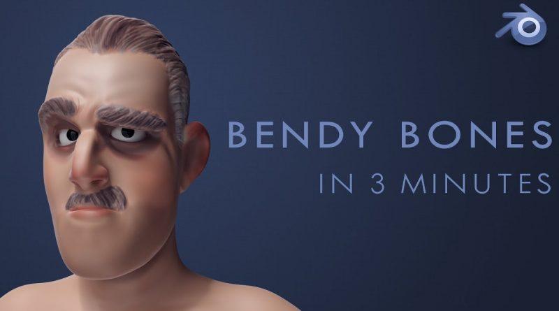 BENDY BONES - Blender 2.8 Tutorial