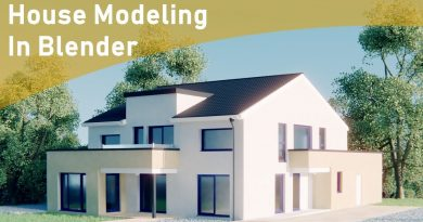 How To Model A House In Blender (House Architecture Modeling Timelapse Tutorial)