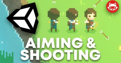 Unity Top Down Character Controller with Aiming and Shooting - Tutorial
