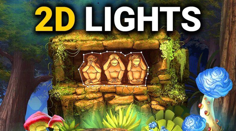 NEW 2D LIGHTS IN UNITY 2019.2 (Tutorial)