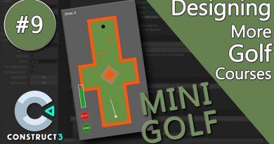 Construct 3 Tutorial #9 - Mini Golf - mobile game - no coding