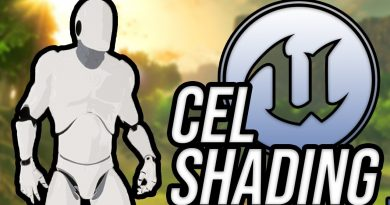 Cel Shading in Unreal Engine 4 (4.21)