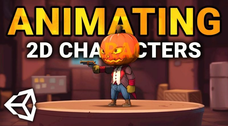 RIG & ANIMATE 2D Characters in Unity 2019! (Tutorial)