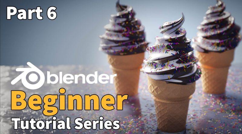Blender 2.8 Beginner Tutorial - Part 6 : EEVEE Rendering