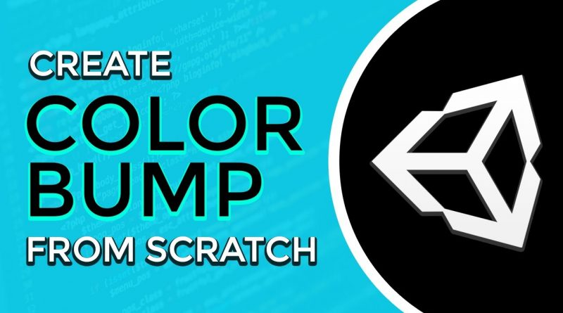 Create Color Bump 3D - Unity Game Tutorial
