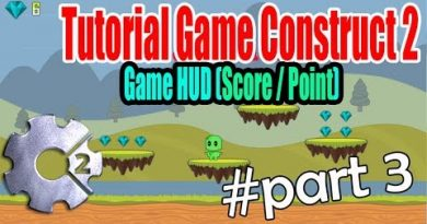 Tutorial Game Construct 2 part 3 | Popup HUD Score & Point