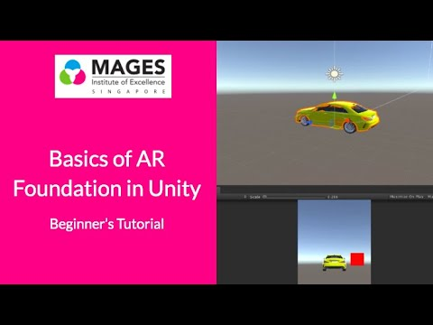 Basics of AR Foundation in Unity | Beginner's Tutorial