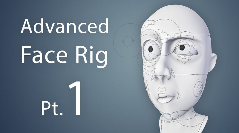 Creating an Advanced Face Rig Pt. 1 (Blender 2.6 Tutorial)