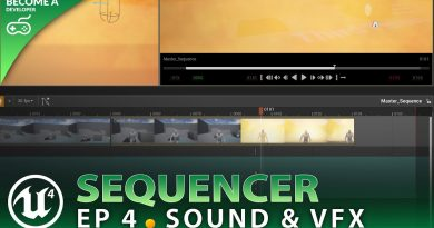 Particles & Sound - #4 Unreal Engine 4 Sequencer Course