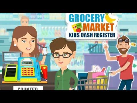#kids #cartoon #kidsgame Grocery marketing game for kids