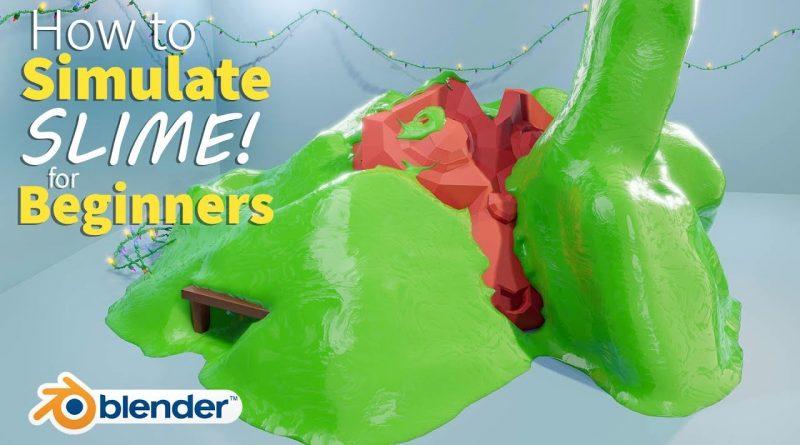 SLIME in Blender in 25 Minutes! - Beginner Tutorial