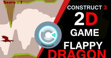 Flappy Dragon Game || Construct 3 Tutorial || Gamers Haveli