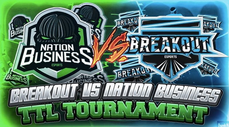 BREAKOUT vs NATION BUSINESS IN TOP TIER LEAGUE TOURNAMENT!!! *COMP GAME* *MUST SEE*