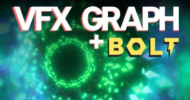 MUSIC VISUALIZER | Unity VFX Graph and Bolt Tutorial