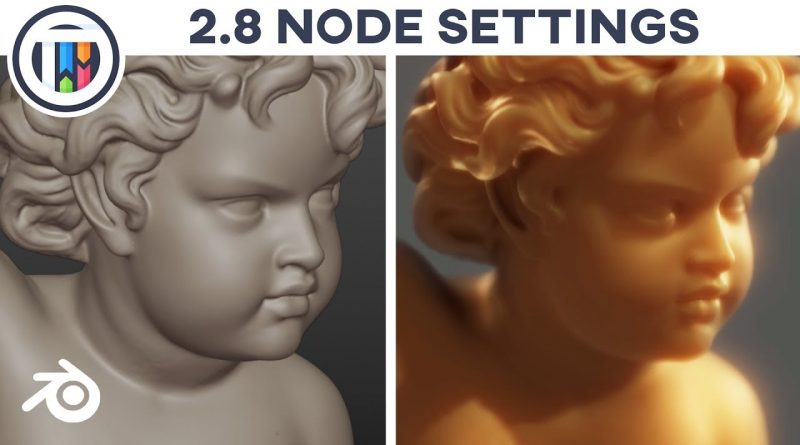 Blender 2.8 Eevee Tutorial - You MUST Enable This Setting for Nodes to Work!!!