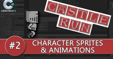 Construct 3 Tutorial #2 - CASTLE RUN - Character Sprites & Animations