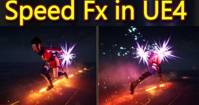 Unreal Engine Speed FX Tutorial