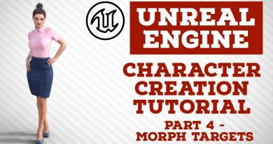Unreal Engine | Character Creation Tutorial | Part 4 - Morph Targets