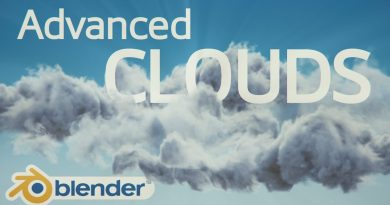 Advanced clouds - Blender 2.8 Tutorial (Cycles)