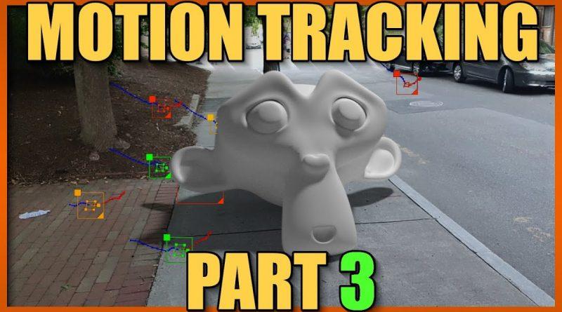 Blender 2.8 Motion tracking #3: Camera tracking in depth (tutorial)