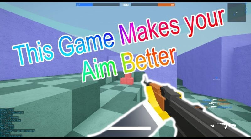 This Game Makes Your Aim Better  Roblox  Bad Business