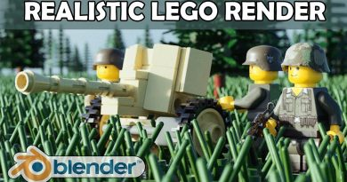 Realistic Blender Tutorial How to Get Lego Photo Realism Using Mecabricks and Stud.io Render